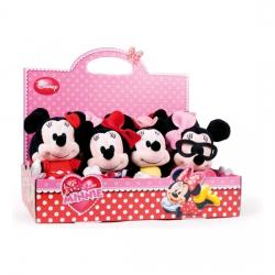 PELUCHE I LOVE MINNIE 20 CM PANTALON AZUL