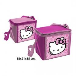 BOLSA NEVERA HELLO KITTY FUCSIA