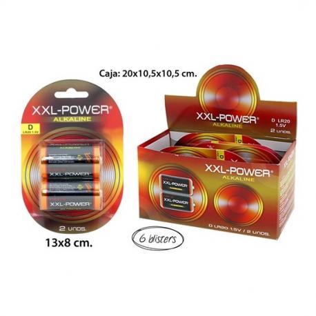 Pilas ALK R20, XXL-POWER, 2uds. - Imagen 1