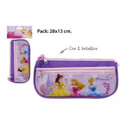 Portatodo Escolar, DISNEY, -PRINCESS-