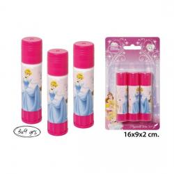 Pegamento Barra 3x9gr., DISNEY, -PRINCESS-