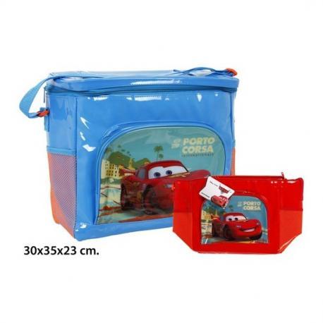 Bolsa Nevera Colores Surtidos, DISNEY, -CARS-, 30x35x23cm. - Imagen 1