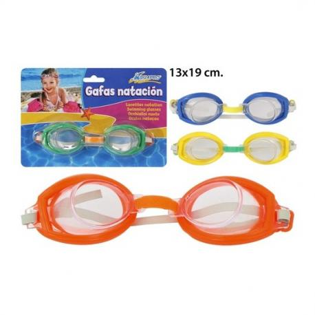 Gafas Natación Colores Surtidos, AQUAPRO, 1uds. - Imagen 1