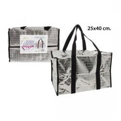 Bolsa Nevera Metalizada, AQUAPRO, 25x25x40cm. - Imagen 1