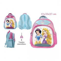 Mochila Escolar, DISNEY, -PRINCESS-