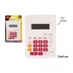 Calculadora 8 Dígitos con Sonido, MASTERCLASS